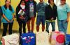 Alumnos del Secundario 46 donaron escaleras comunitarias al SAMIC