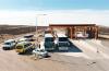 Controles en el portal de ingreso a El Calafate (Drone)