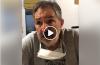 El dr. Juan Acuña Kunz va a recetar ibuprofeno inhalado en Caleta Olivia y da las indicaciones de cómo debe suministrarse